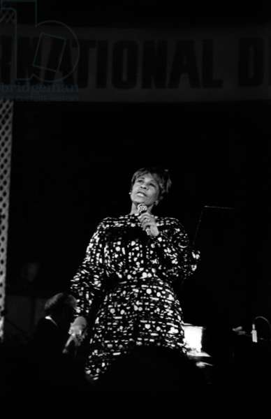 Ella Fitzgerald At the International Jazz Festival in Nice July 22, 1971 Neg: Cx4364 (b/w photo)