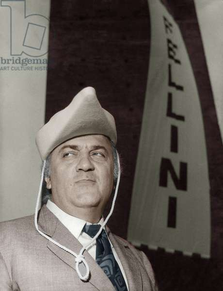 Italian Film Maker Federico Fellini May 30, 1971 (photo)