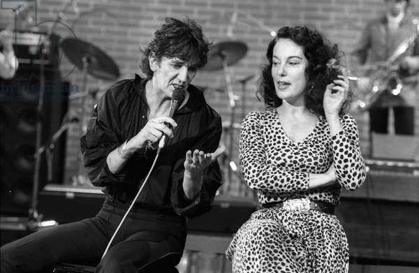 Jacques Higelin and Bernadette Lafont