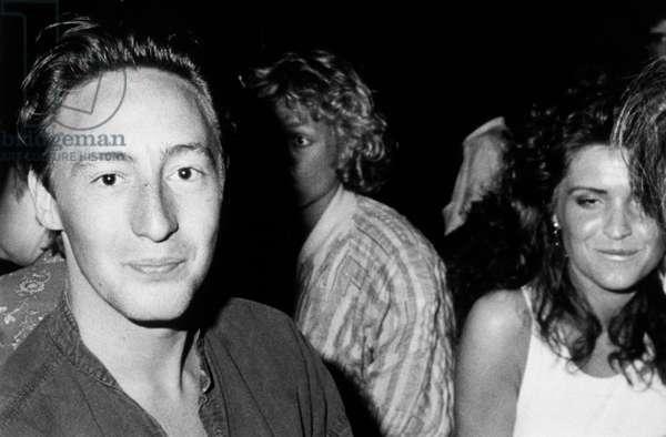 Julian Lennon (B1963), Son of John Lennon and Cynthia Powell, C. Late 70'S (b/w photo)