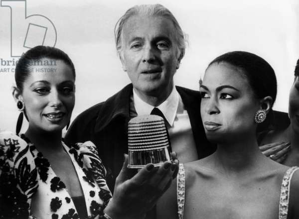 French Couturier Hubert De Givenchy and his Models Has Received The