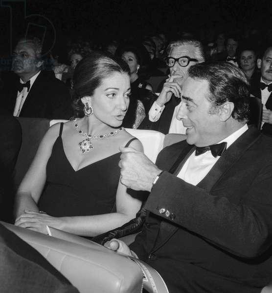 Maria Callas and Prince Borromeo