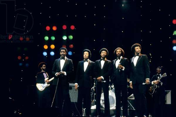 The Temptations here on Stage in The 80'S (photo)