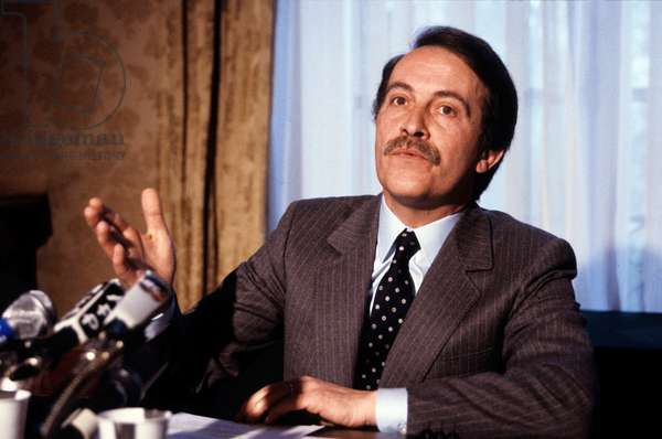 Henri Nallet, French Minister of Agriculture, 1985 (photo)