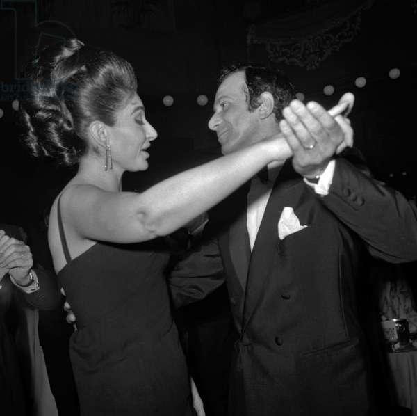 Maria Callas et  Roland Petit
