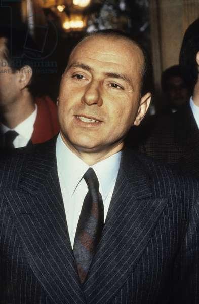 Silvio Berlusconi, 1986 (photo)