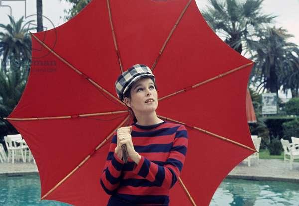 Geraldine Chaplin in 1965 (photo)
