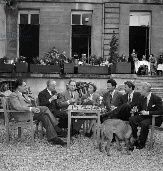 La Kermesse aux Etoiles, 1949 (b/w photo)