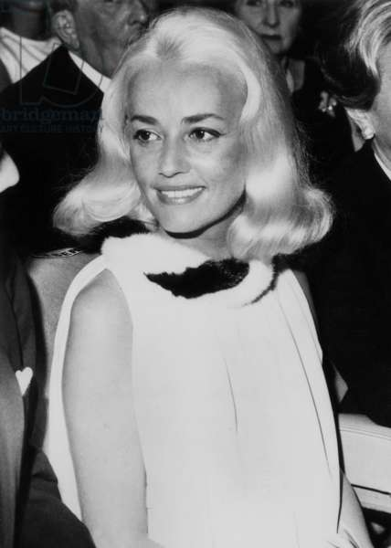Jeanne Moreau at Premiere of Film