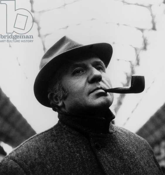 Telefilm Maigret gare de l' est avec Jean Richard le 11 decembre 1962 Neg:C76806 (photo)