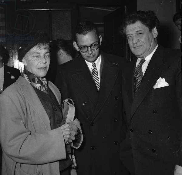 Michel Godey and Joseph Kessel, 1952