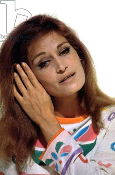 Singer Dalida (1933-1987) C. 1979 (photo)