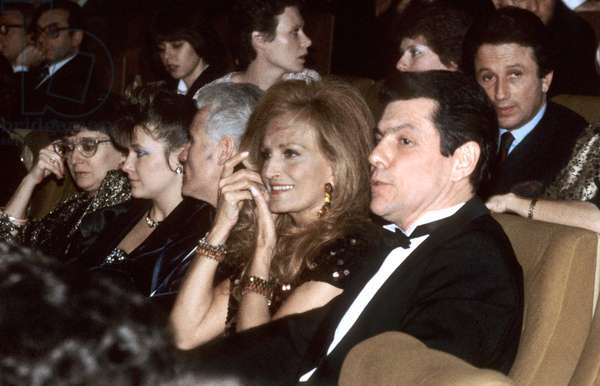 Dalida With Francois Naudy January 1986. Behind Is Michel Drucker (photo)