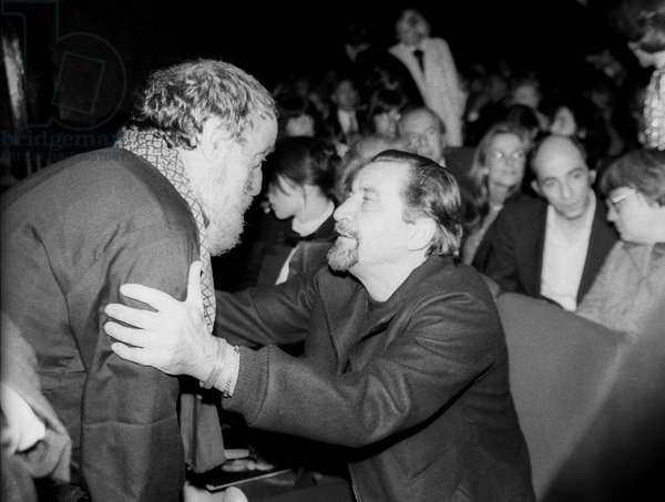 Cesar et Maurice Bejart