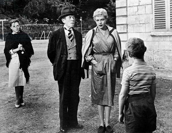 Les Diaboliques Diabolique De Henrigeorgesclouzot Avec Vera Clouzot, Pierre Larquey, Simone Signoret, 1955 (b/w photo)