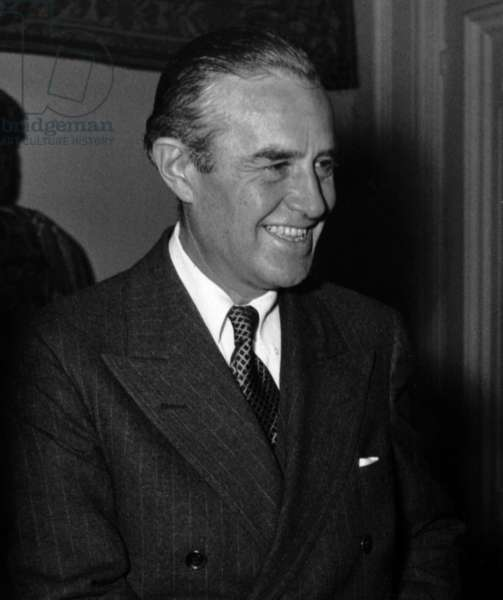 Averell Harriman American Ambassador in Europe For Marshall Plan on May 11, 1948 (b/w photo)