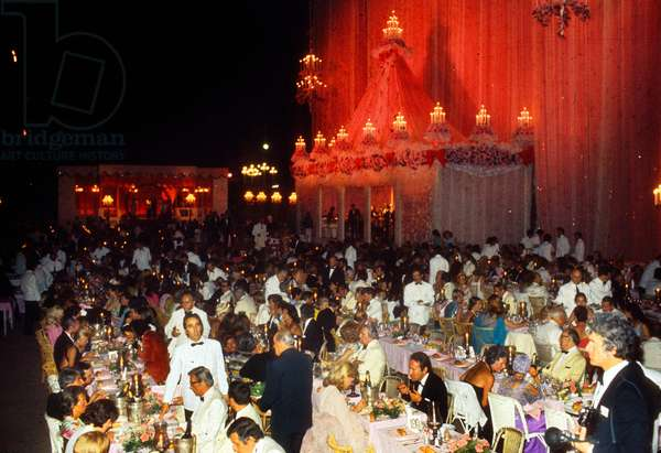 General View of The Red Cross Gala in Monaco in 1973 (photo)
