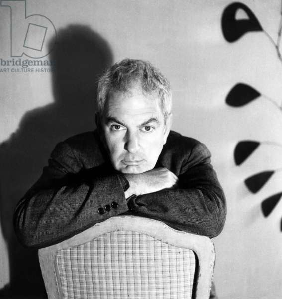Alexander Calder (1898-1976) American Sculptor, October 1946 (b/w photo)