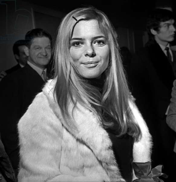 French Isnger France Gall at TV Programme