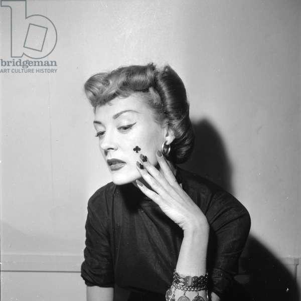 Demone, new haircuts presentation, 1952