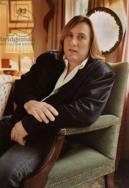 French Actor Gerard Depardieu on September 20, 1991 (photo)
