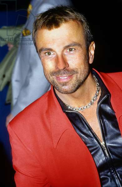 French Fashion Designer Thierry Mugler in 1990 during Fashion Show in Paris (photo)