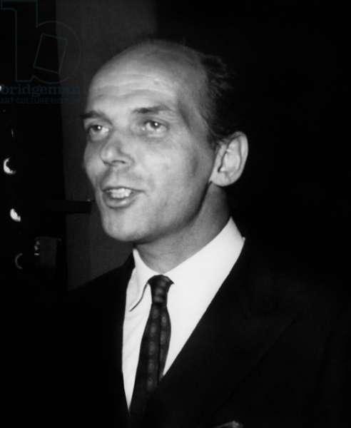 Prince Michel De Bourbon De Parme Arriving at Ball Given By The -Agnellis in Bois De Boulogne, Paris, May 27, 1967 (b/w photo)