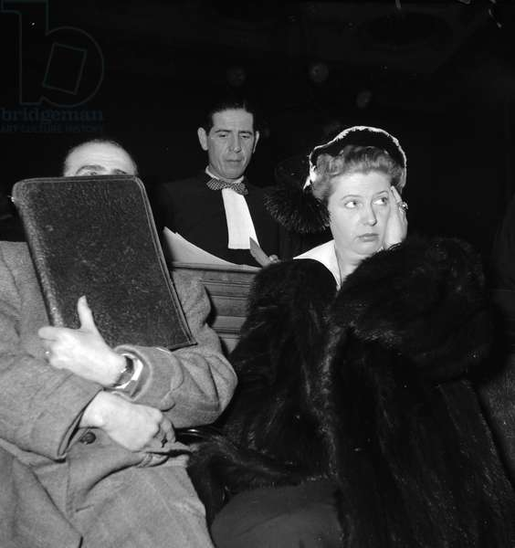 Trial of Nadia Temperton, 1952
