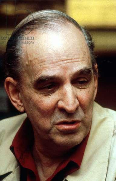 Sweden Film Director Ingmar Bergman in 1988 (photo)