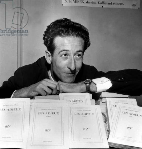 Francois Regis Bastide, Prizewinner Femina Dedicates his Novel Intitles
