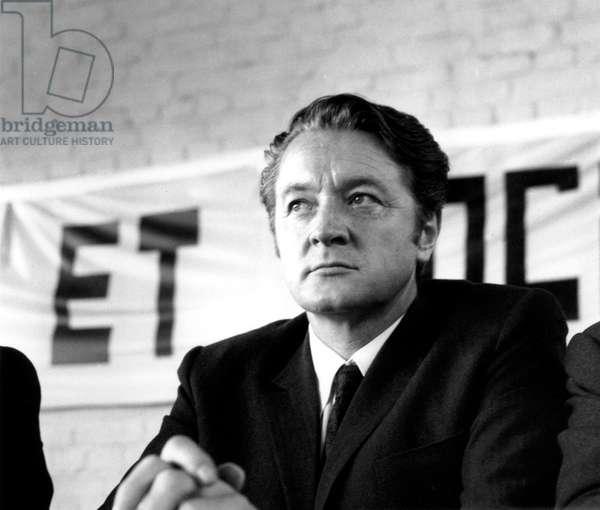 Roland Dumas May 4, 1969 (b/w photo)