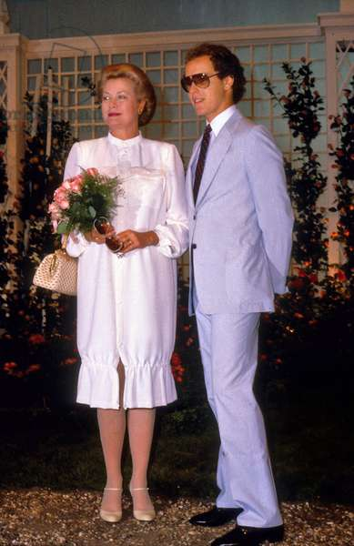 Princess Grace of Monaco and her Son Prince Albert (Future Albert Ii) in June 1981 (photo)