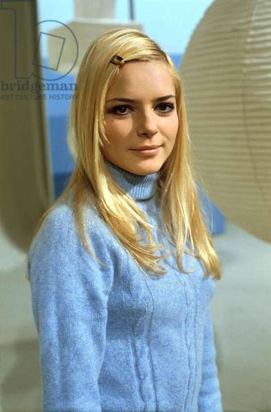 French Singer France Gall C. 1966 (photo)