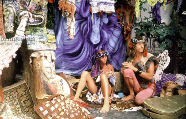 Hippie Couple in The 70'S (photo)