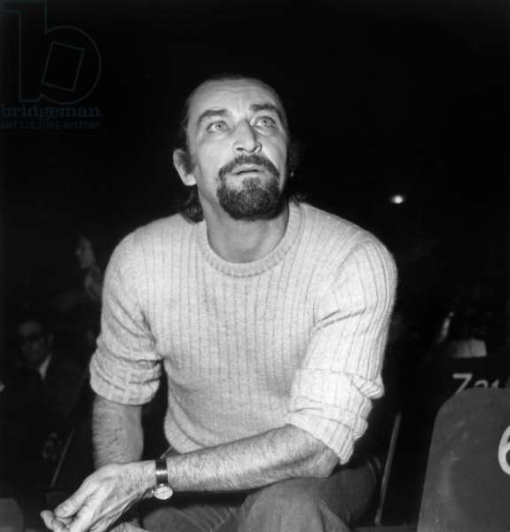 "Choreographer Maurice Bejart during the Rehearsal of the Ballet ""Nijinski clown de Dieu"", Paris, 13 January 1972 (photo)"