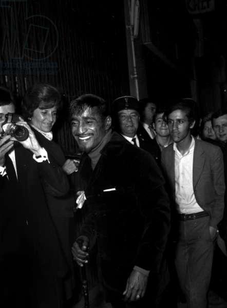 Premiere of Sammy Davis Jr, Olympia, Paris, 1 June 1967 (photo)