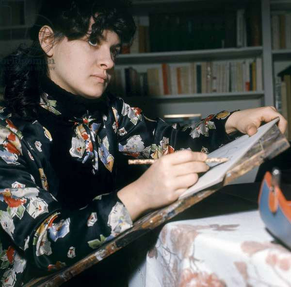 Paloma Picasso in her Studio, 23 March 1971 (photo)