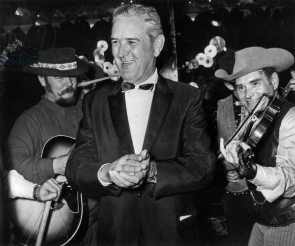 John Connally t a Taxan Night, the New Jimmy's, Paris, 4 December, 1967 (photo)
