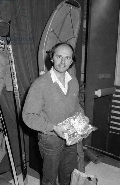 French physician Jean Louis Etienne before his departure for North Pole,  7 February 1986  (photo)