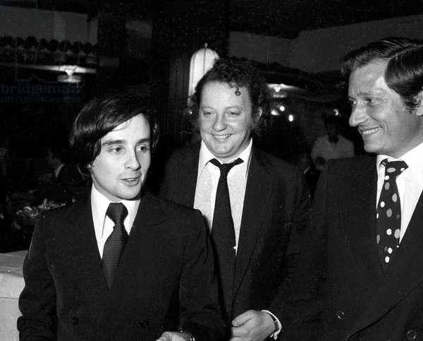 Thierry Le Luron and Paul Lederman, Paris, 8 November 1973 (photo)