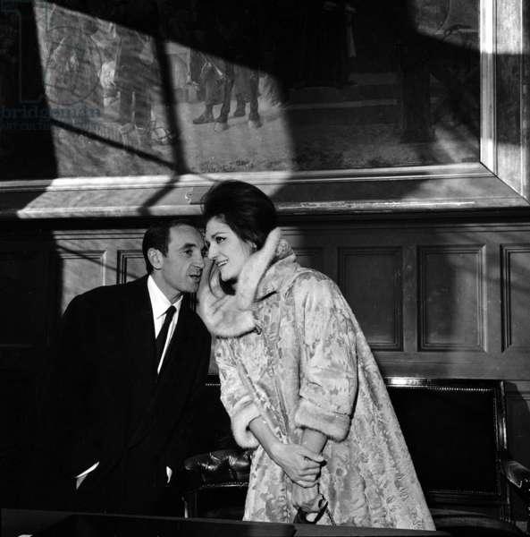 Charles Aznavour et Dalida