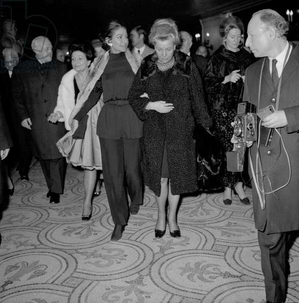 Maria Callas et Ekaterina Furtseva