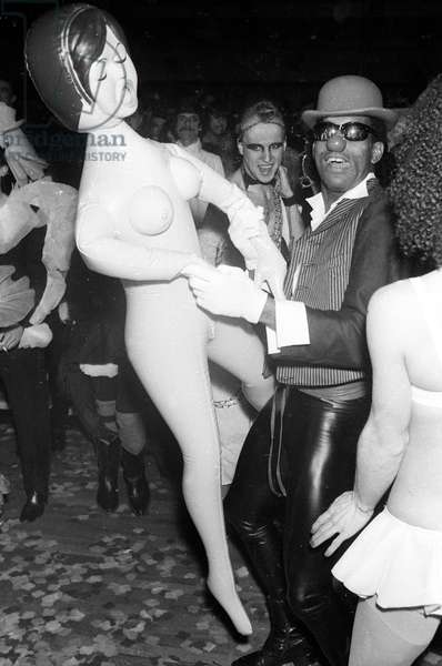 Private Party at Le Palace Nightclub, Paris, 1979 (photo)