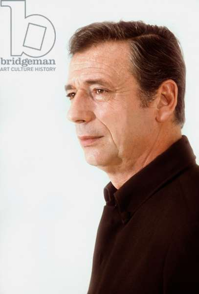 French Actor Yves Montand, 1971 (photo)