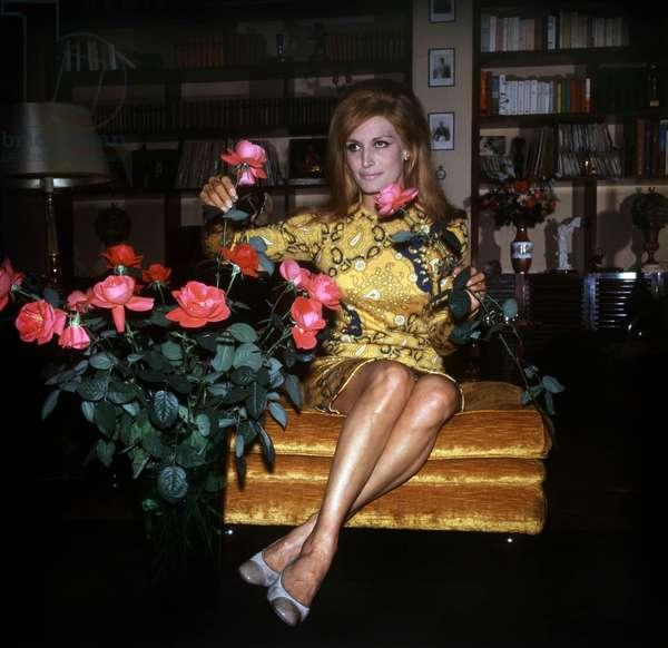 Singer Dalida, c. 1967 (photo)
