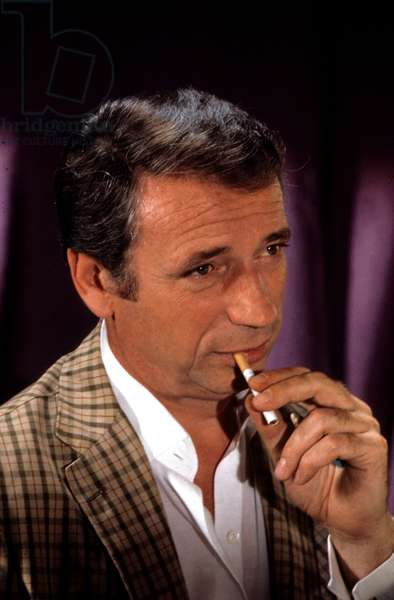 French Actor Yves Montand, 1974 (photo)