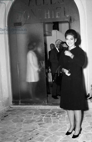 Maria Callas, June 1968 (photo)