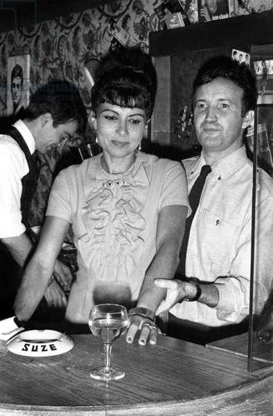Desta Hallyday (Johnny Hallyday's cousin), c. 1964 (photo)