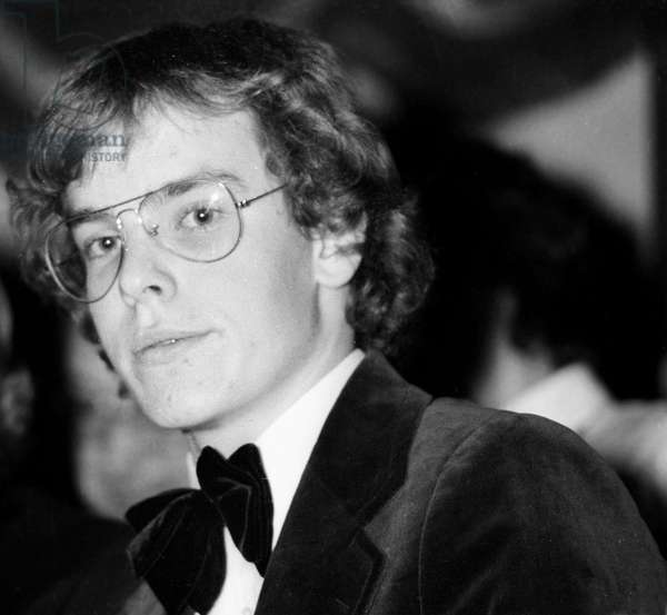 Prince Albert of Monaco (future Albert II) at circus in Paris, 6 February 1975 (photo)