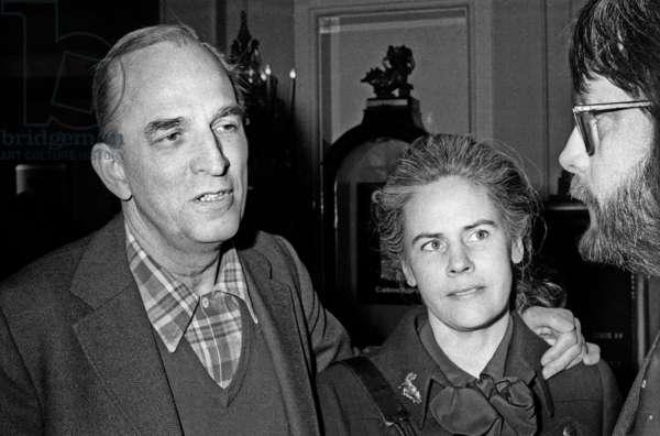 Ingmar Bergman with his wife Ingrid von Rosen (photo)